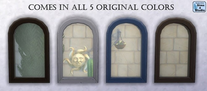 Short arched mega window by OM at Sims 4 Studio image 77 670x295 Sims 4 Updates