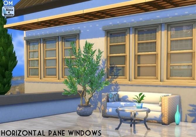 Sims 4 Horizontal pane windows at Sims 4 Studio