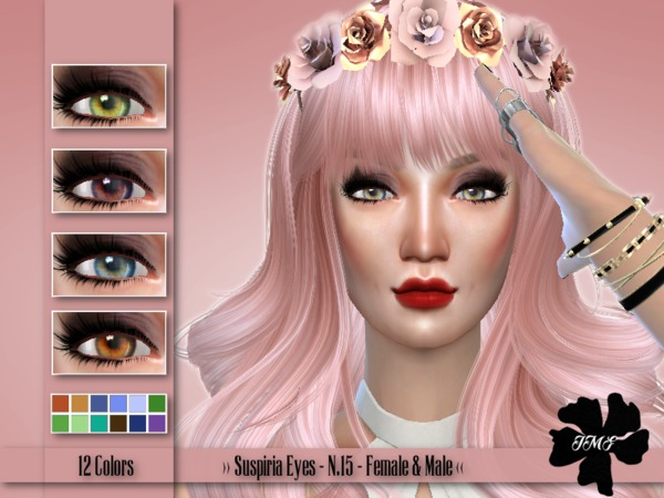 IMF Suspiria Eyes N.15 F/M by IzzieMcFire at TSR » Sims 4 ...