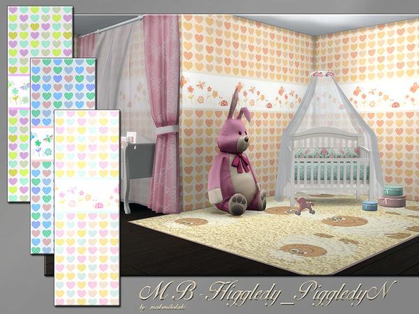 Sims 4 MB Higgledy PiggledyN wallpaper by matomibotaki at TSR