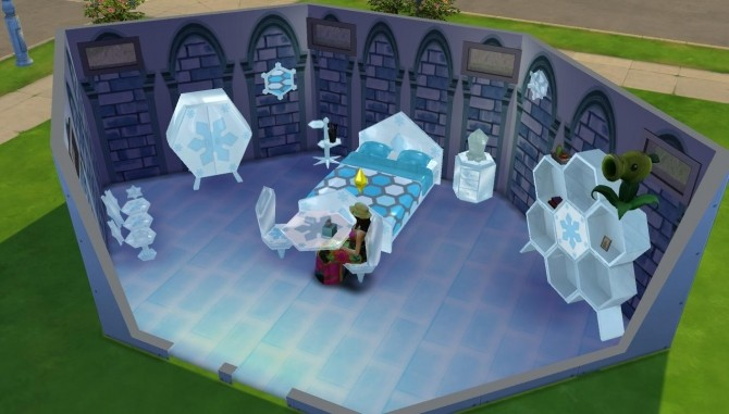 Sims 4 Animal Crossing Ice Series Inspired Objects by darkdatatrc at Mod The Sims