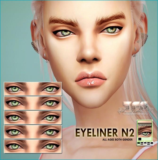 Sims 4 Eyeliner N2 at Tifa Sims