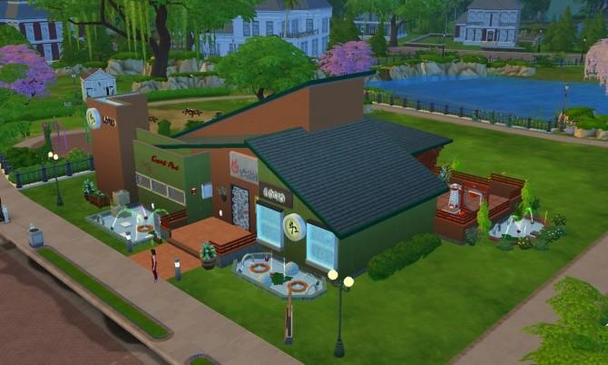 Sims 4 La Mama restaurant by catalina 45 at Mod The Sims