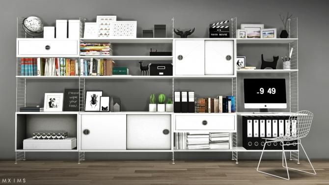 Sims 4 Cc Furniture Living Room Tv