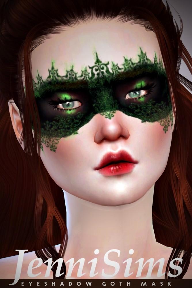 EyeShadow Goth Mask at Jenni Sims image 8814 667x1000 Sims 4 Updates