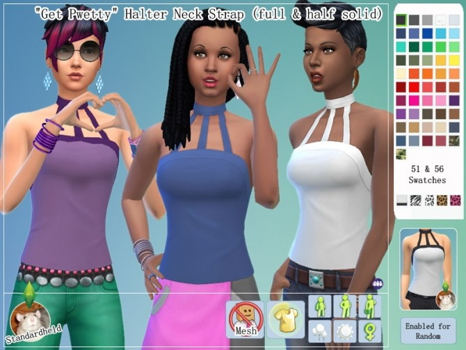 Get Pwetty Clothing Pack by Standardheld at SimsWorkshop image 9012 670x503 Sims 4 Updates