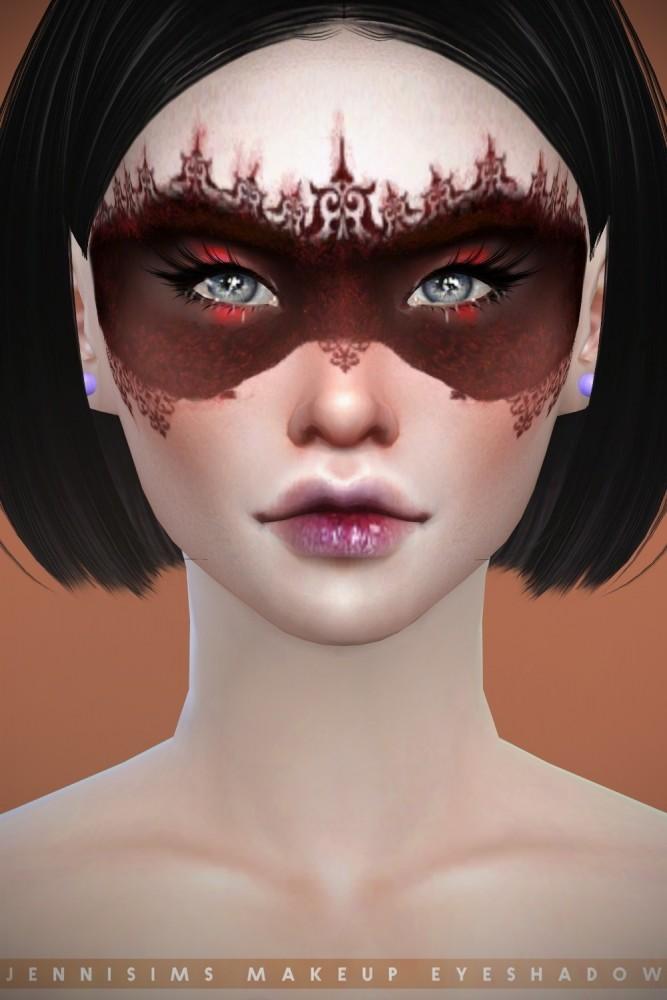 EyeShadow Goth Mask at Jenni Sims image 9015 667x1000 Sims 4 Updates