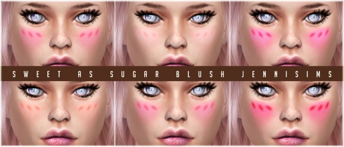 Sims 4 Sweet As Sugar Blush at Jenni Sims