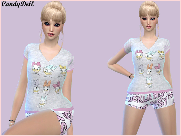 CandyDoll DaisyDuck Set by DivaDelic06 at TSR image 914 Sims 4 Updates