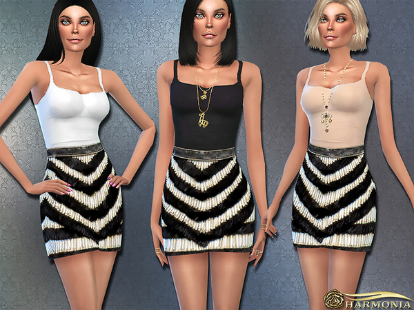 Sims 4 DASH Style Designer Outfit by Harmonia at TSR