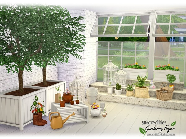 Foyer Plants : Gardening foyer plants by simcredible at tsr � sims updates