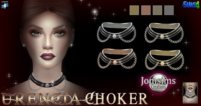 Urencia Choker at Jomsims Creations image 9610 670x355 Sims 4 Updates