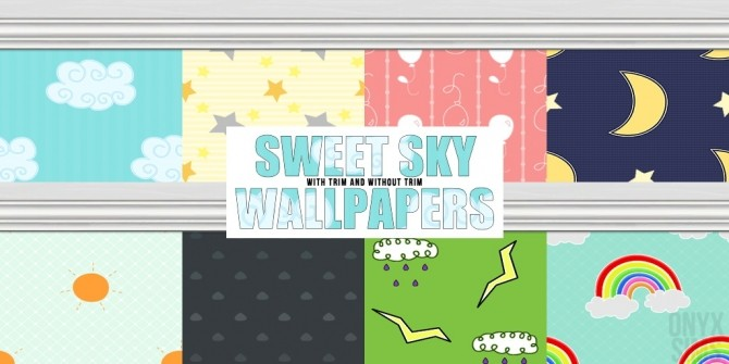 Sims 4 Sweet Sky Wallpapers at Onyx Sims