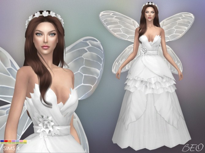 WEDDING DRESS FAIRY at BEO Creations image 9716 670x503 Sims 4 Updates