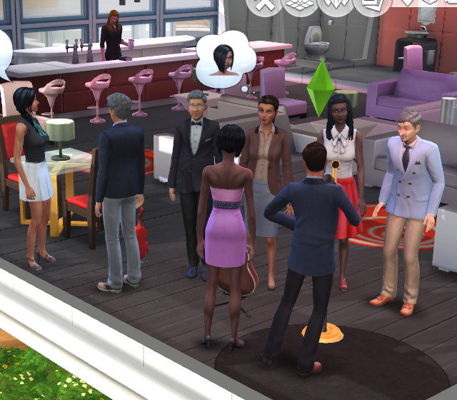 Sims 4 Formal Outfits At Lounges by Shimrod101 at Mod The Sims