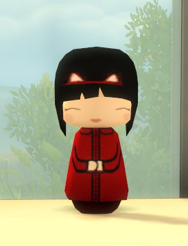 Princess Bliss Kawaii Kokeshi Doll by BigUglyHag at SimsWorkshop image 9913 Sims 4 Updates