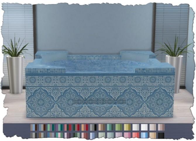 Hot Tub Mosaic V1 at Pixel Shrine – Devilicious image 1007 670x481 Sims 4 Updates