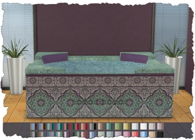 Hot Tub Mosaic V1 at Pixel Shrine – Devilicious image 10112 670x481 Sims 4 Updates