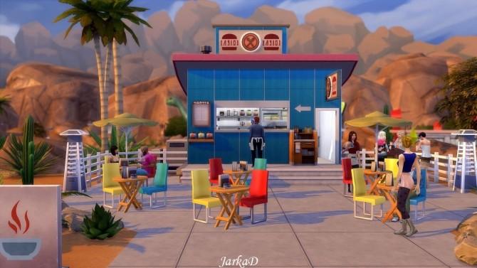 Sims 4 Maxis Bistro at JarkaD Sims 4 Blog