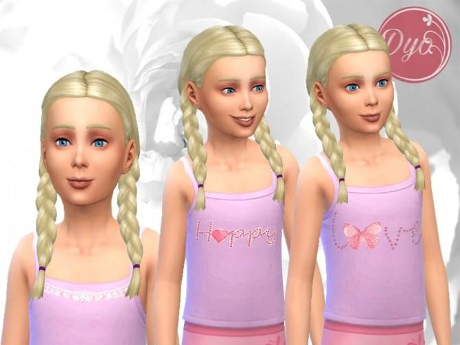 Sims 4 Frou frou top by Dyokabb at Les Sims4