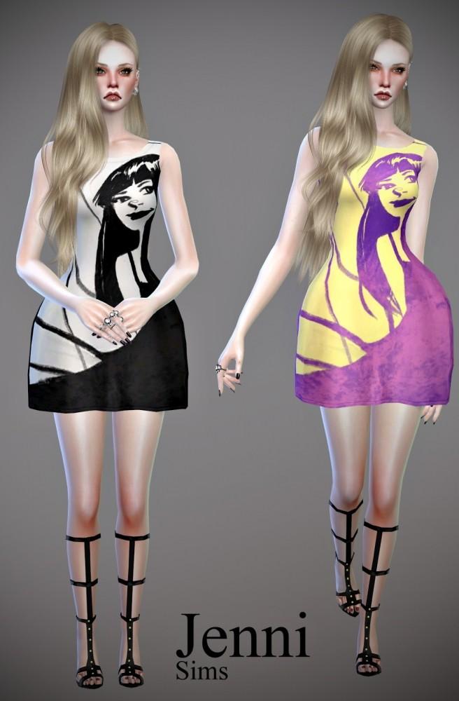 Dress and Skirt Summer Days at Jenni Sims image 1053 656x1000 Sims 4 Updates