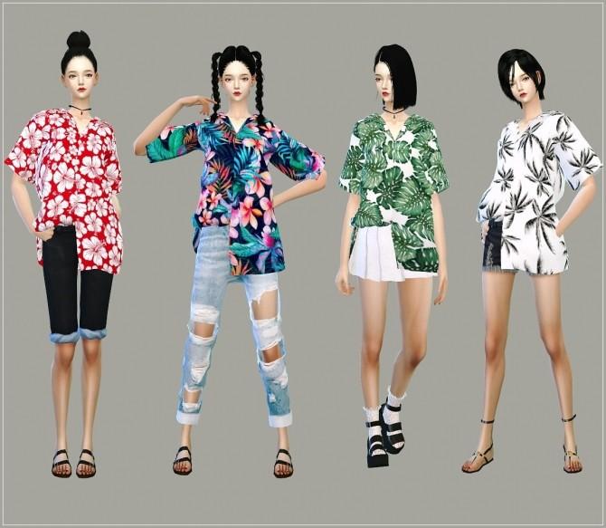 Hawaiian Shirts Unbalance at Marigold image 1095 670x583 Sims 4 Updates