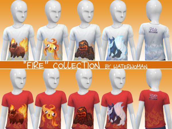 40 Void creatures T shirts for kids by Waterwoman at Akisima image 11112 Sims 4 Updates