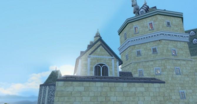 Sims 4 Mini Hogwarts by jamspanumas at Mod The Sims