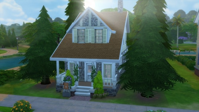 Sims 4 Romantic Cottage by iraht at Mod The Sims