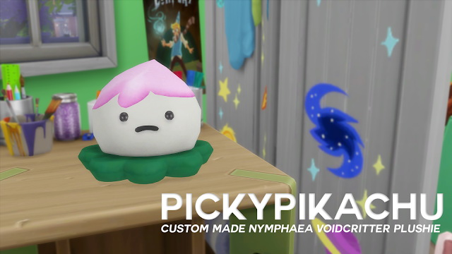 Sims 4 Nymphaea Voidcritter Plushie at Pickypikachu
