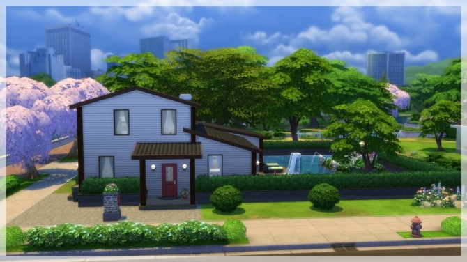 Sims 4 Rubinen house by Indra at SimsWorkshop