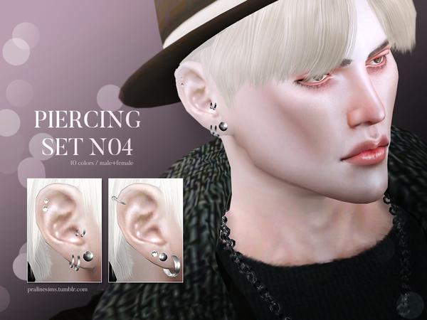 Piercing Set N04 by Pralinesims at TSR image 1214 Sims 4 Updates