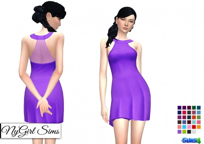 Halter Sundress with Sheer Panel at NyGirl Sims image 1223 670x473 Sims 4 Updates