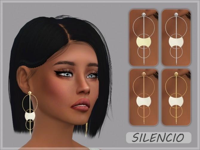 Sims 4 Silencio Earrings at Giulietta