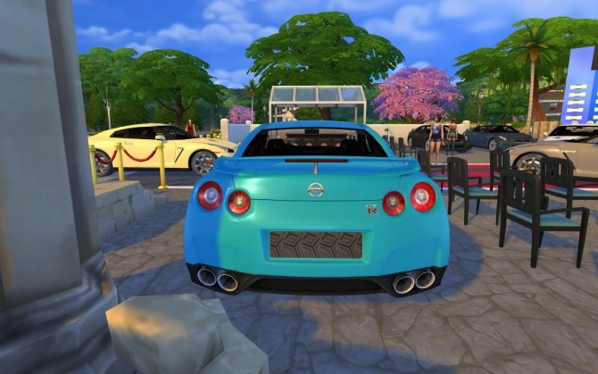 Nissan Gt R At Lorysims 187 Sims 4 Updates