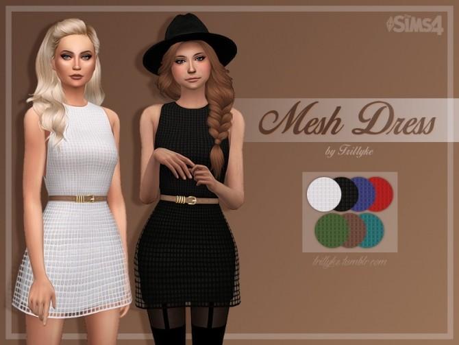 Sims 4 Mesh Dress at Trillyke
