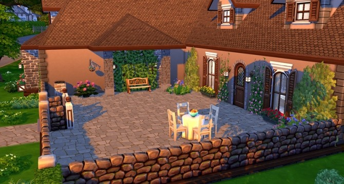 Cottage Anna by ihelen at ihelensims image 1292 670x358 Sims 4 Updates