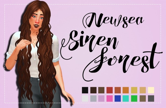Sims 4 Hallowsims (Newsea) Siren Forest Clayified by Weepingsimmer at SimsWorkshop