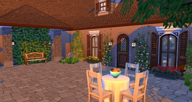 Cottage Anna by ihelen at ihelensims image 1302 670x358 Sims 4 Updates