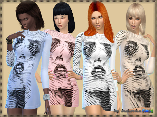 Sims 4 Anthony dress at Bukovka