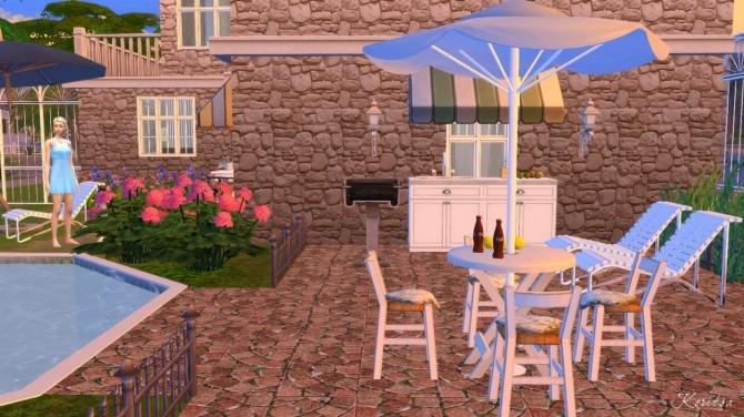 Sims 4 Tender Flower house at Angelina Koritsa