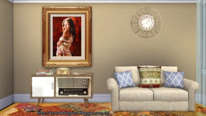 Captivating Woman Paintings 2 at Kyma Desingsims S4 image 13315 670x377 Sims 4 Updates