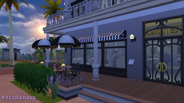 The Sixth Sense Restaurant by Zzz Danaya at ihelensims image 1332 Sims 4 Updates