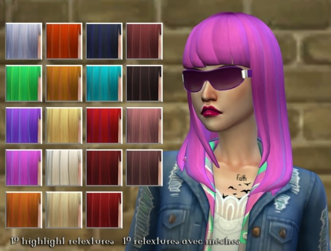 3 Hair Retextures By Delise At Sims Artists 187 Sims 4 Updates