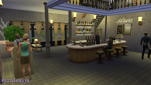 The Sixth Sense Restaurant by Zzz Danaya at ihelensims image 1341 Sims 4 Updates