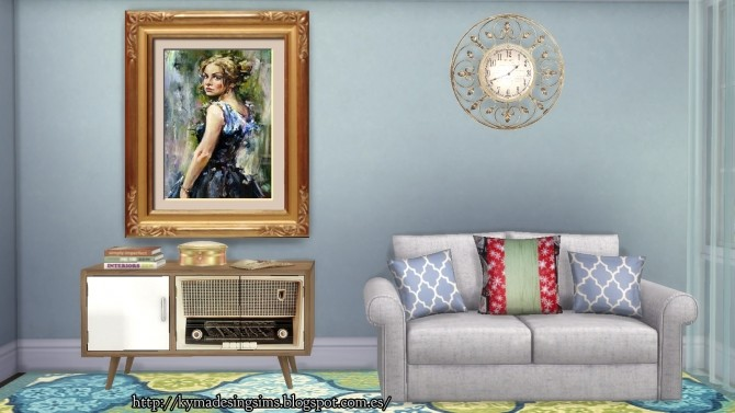 Captivating Woman Paintings 2 at Kyma Desingsims S4 image 13413 670x377 Sims 4 Updates