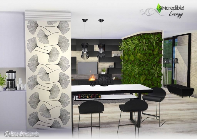 Sims 4 living room downloads sims 4 updates page 11 of 57 for Modern living room sims 4