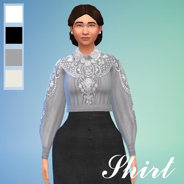 Edwardian Dress by Anni K at Historical Sims Life image 1368 Sims 4 Updates