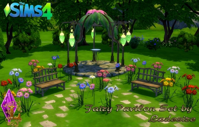 Fairy Pavilon Set at Ladesire image 13711 670x427 Sims 4 Updates