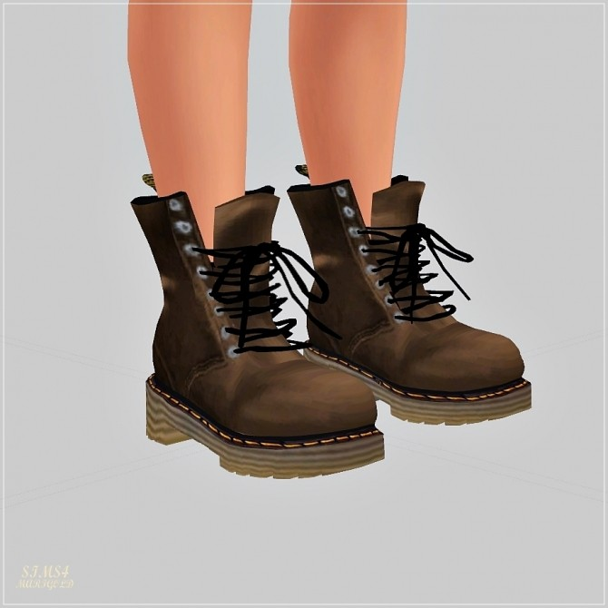 Sims 4 Male Combat Boots at Marigold